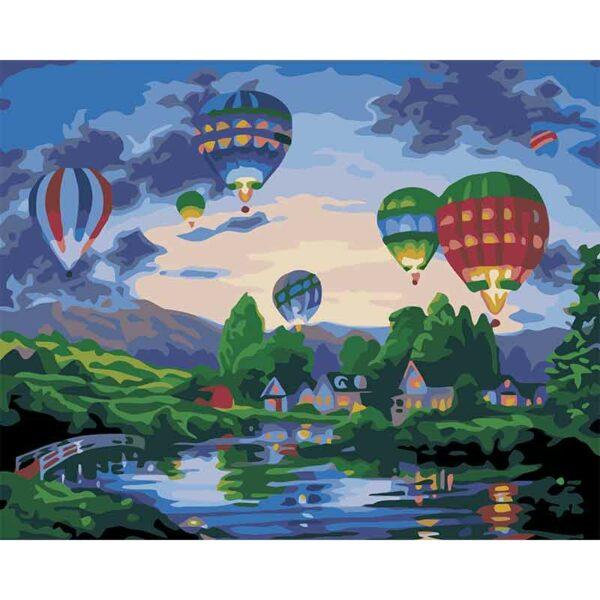 Heissluft-Ballons