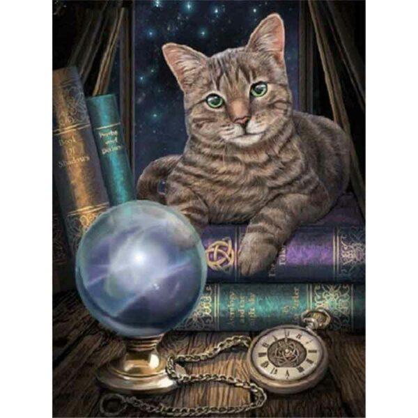 Buchliebhaber Katze