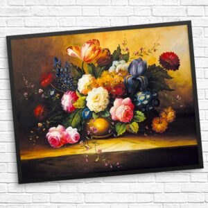 Bunte Blumen Diamond Painting