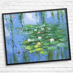 Blumen im Wasser