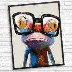 Glücklicher Frosch