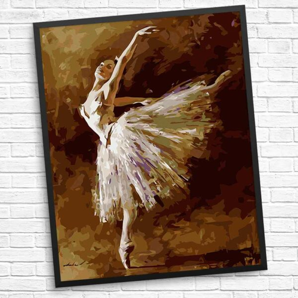 Ich liebe den Tanz Diamond Painting