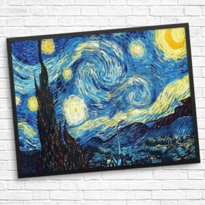 Starry Night Wunderschön Diamond Painting