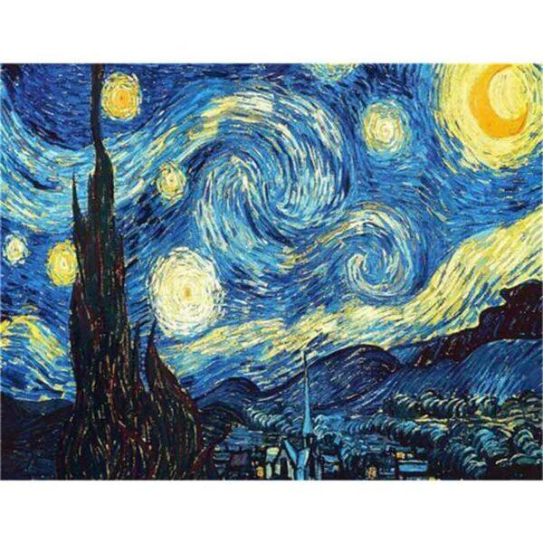 Starry Night Wunderschön Diamond Painting