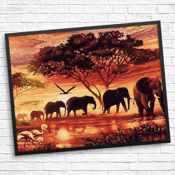 Die Familie der Elefanten