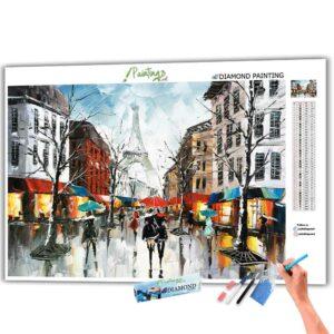 Ich liebe Regen - Paris