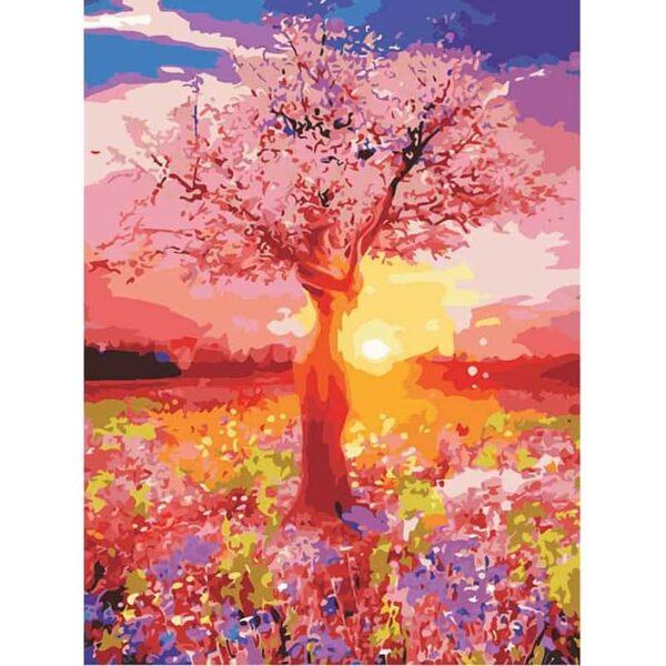 Abstrakter lebender Baum