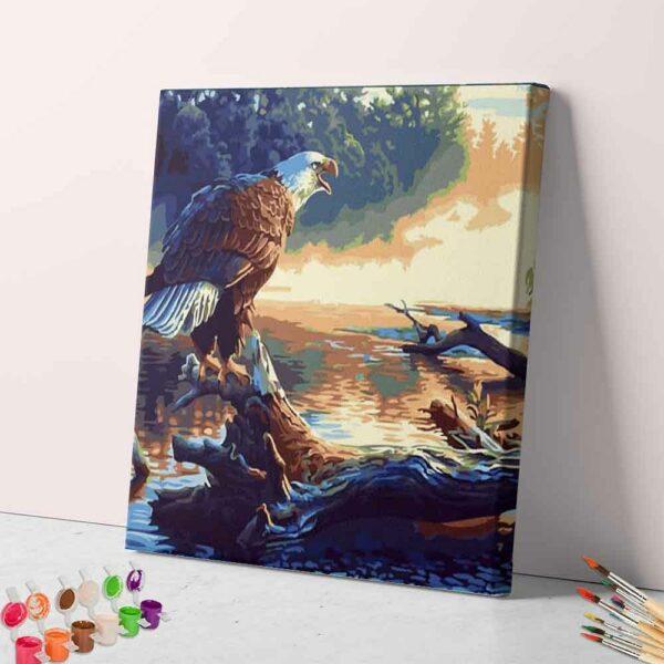 Adler auf dem Baum