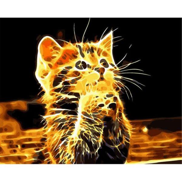Hilf mir Gott! Schöne Katze