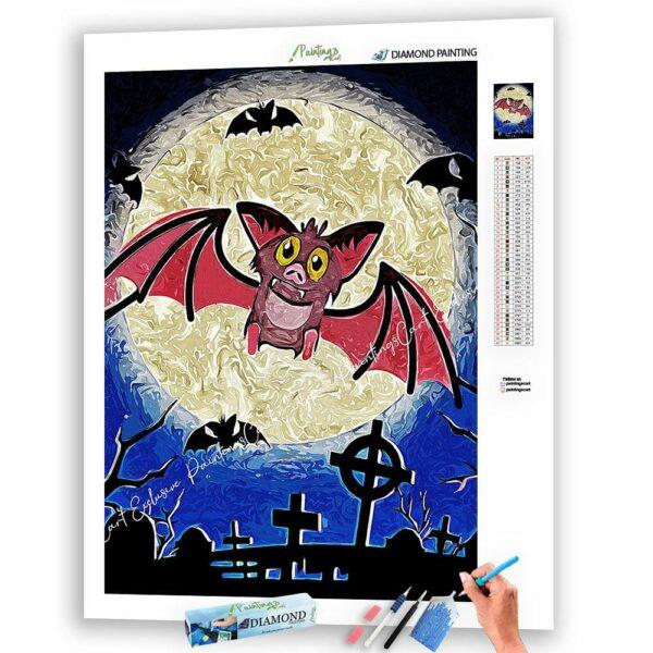Die gruselige Fledermaus und Halloween