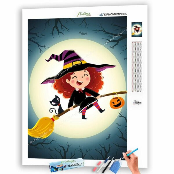 Die niedlichste Hexe - Halloween