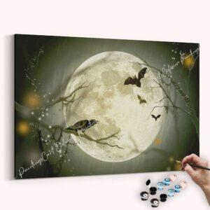 Die Fledermäuse und Krähen