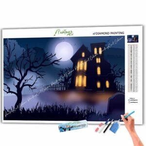 Licht im Spukhaus - Halloween